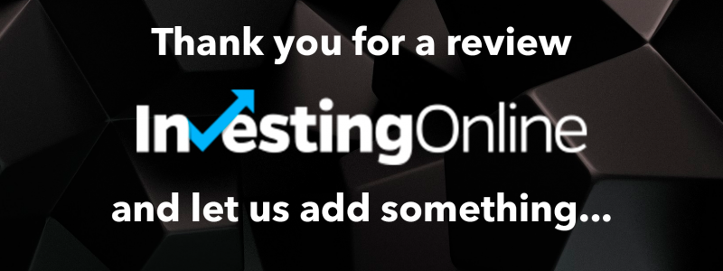 Investing Online have reviewed BestRate and we have something more to add