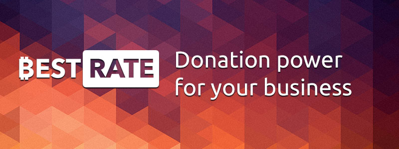 Donation Power for Your Project with BestRate Payout