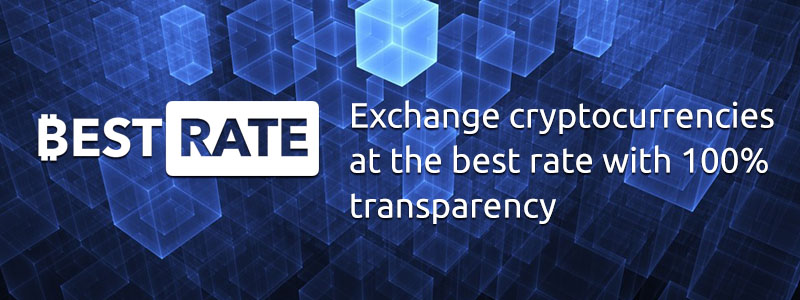 Exchange Cryptocurrencies at the BestRate with 100% Transparency