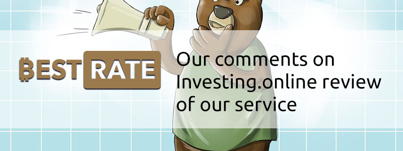 Our Comments on Investing.online Review of Our Service