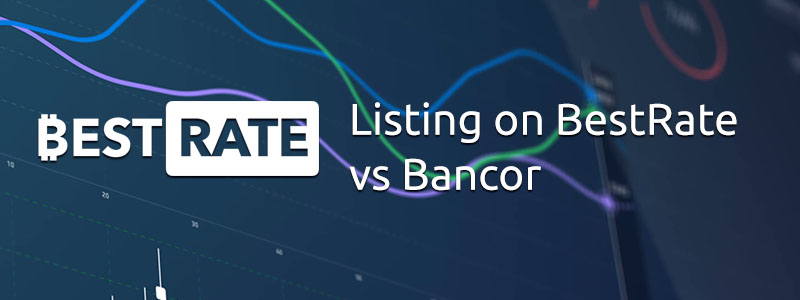 Listing on BestRate vs Bancor